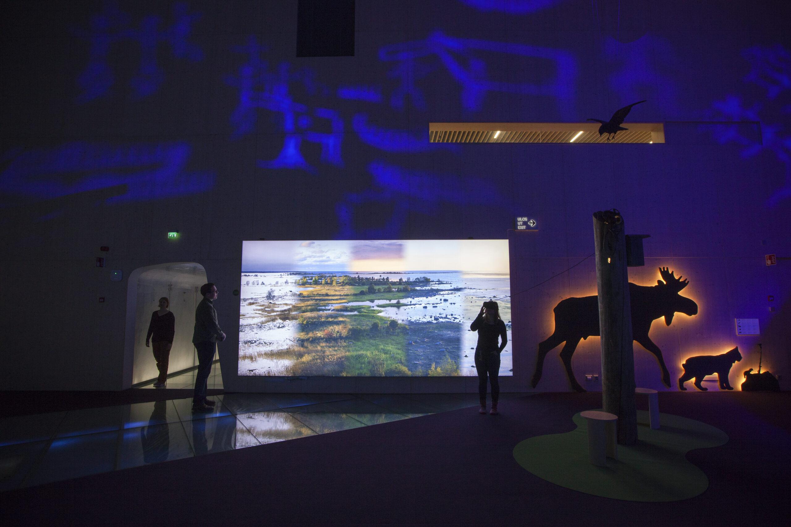 Haltia Päänäyttely2019  Maankohoama ja vr-lasit_kuva_Atte_Tornikoski